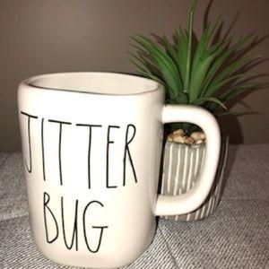 """Rae Dunn """"JITTER BUG"""" mug"""